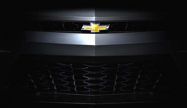 2016 Chevrolet Camaro-grille
