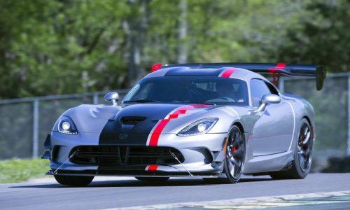 """2016 Dodge Viper ACR unveiled, """"fastest Viper ever"""""""