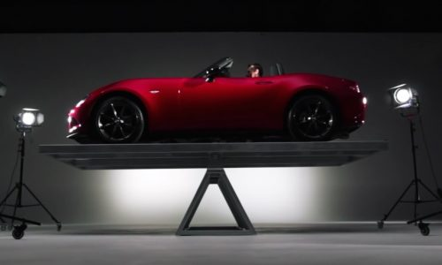 Video: Mazda details new MX-5 weight and balance
