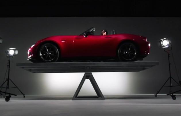 2016 Mazda MX-5 balance