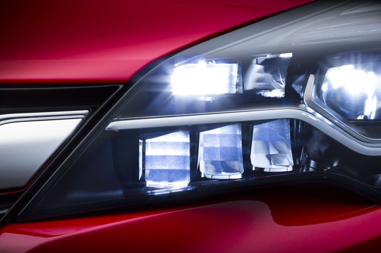 2016 Opel Astra getting LED Matrix headlight technology