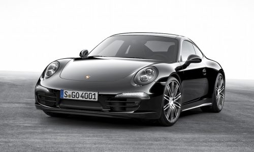 Porsche 911 & Boxster Black Editions announced with 2016 update