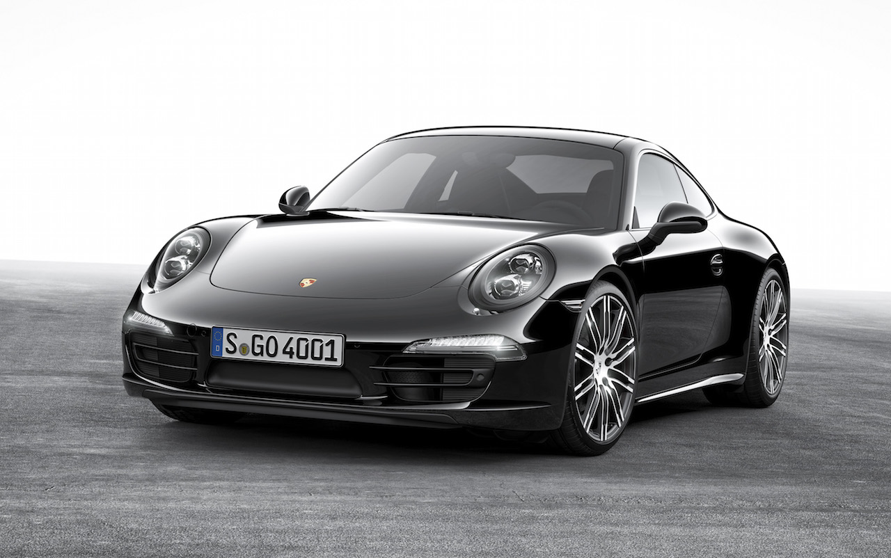 Porsche 911 Amp Boxster Black Editions Announced With 2016