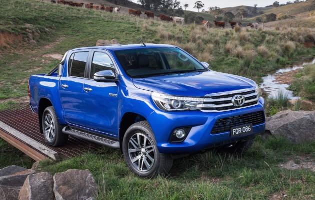 2016 Toyota HiLux SR5