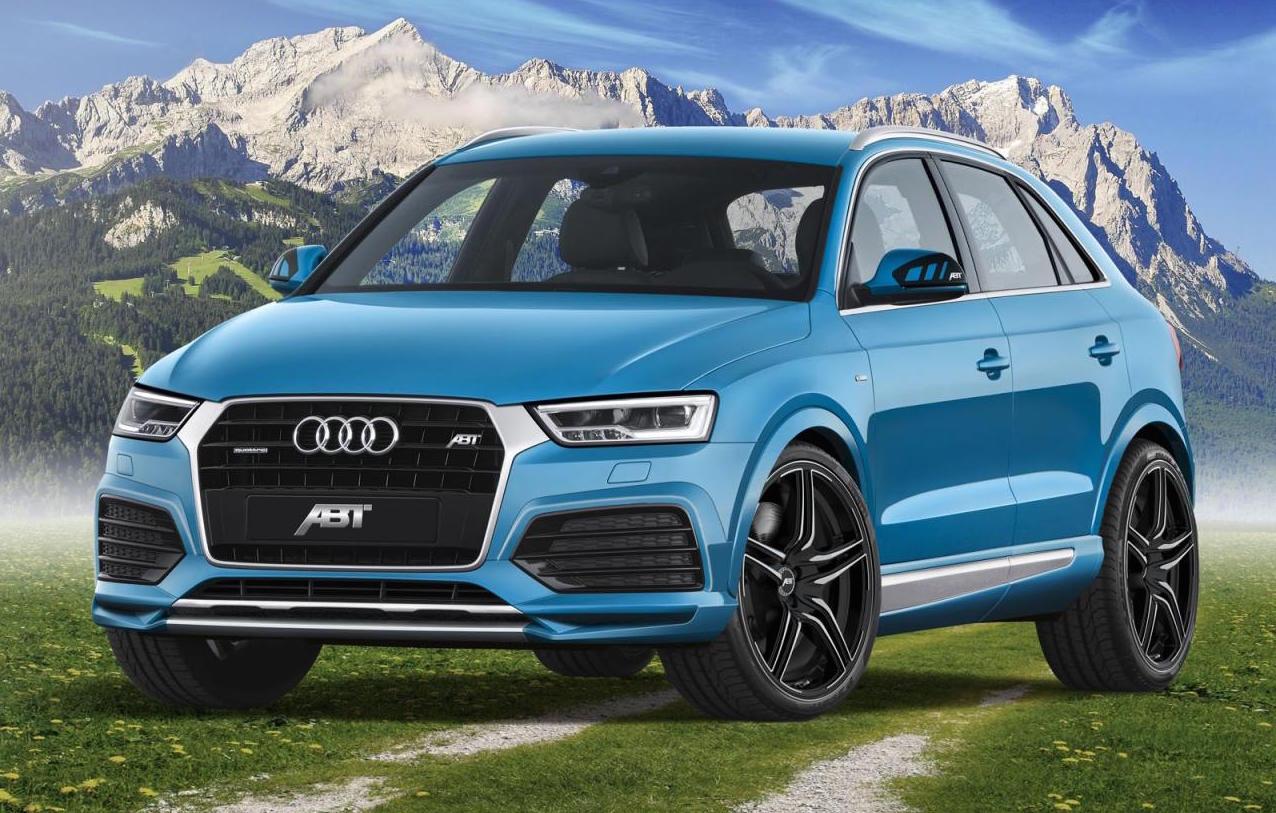 ABT develops performance upgrade for Audi Q3 2 0 TDI