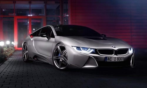 AC Schnitzer develops cool styling kit for BMW i8
