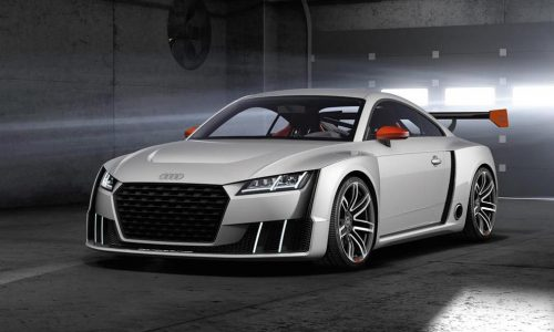 Audi TT Clubsport Turbo concept revealed, uses 'e-turbo' tech