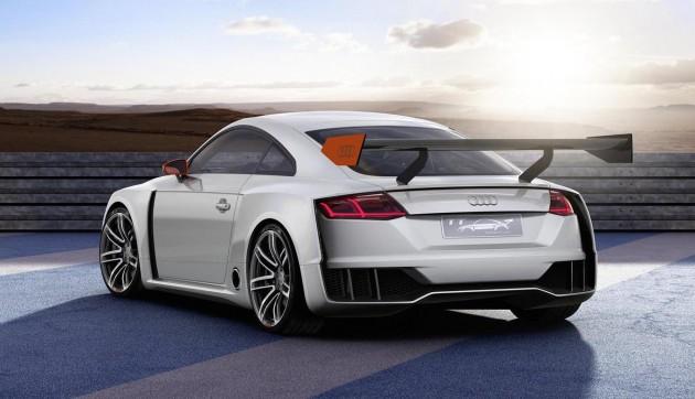 Audi TT Clubsport Turbo concept-rear