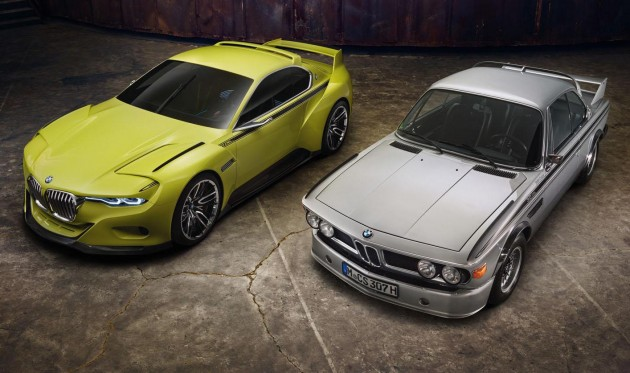 BMW 3.0 CSL Hommage and 1970s CSL