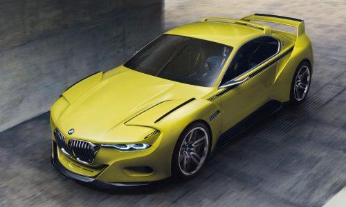 BMW 3.0 CSL Hommage concept unveiled at Concorso d'Eleganza