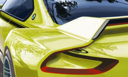 BMW 3.0 CSL Hommage concept in the works