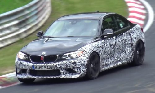 Video: BMW M2 prototype spotted on Nurburgring again