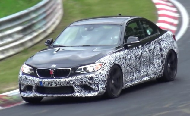 BMW M2 prototype