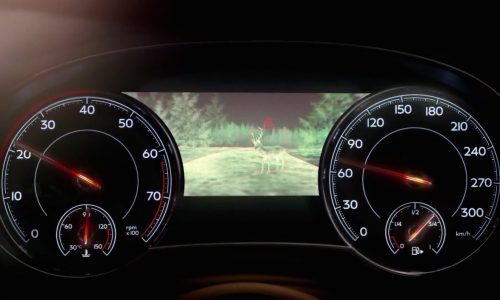 Video: Bentley Bentayga SUV shows off clever technologies