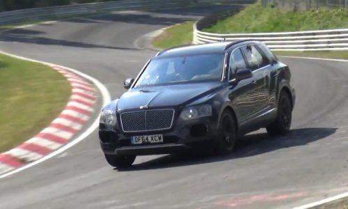 Video: Bentley Bentayga prototype spotted on Nurburgring