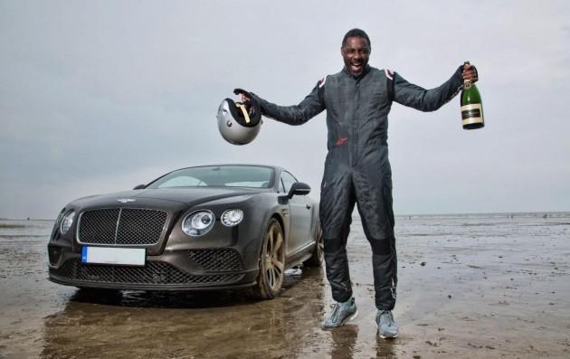 Bentley Continental GT Speed Idris Elba
