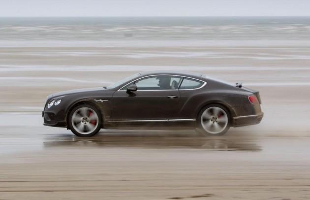 Bentley Continental GT Speed record-Idris Elba