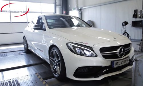 DTE-Systems tunes new Mercedes C 63 AMG (video)
