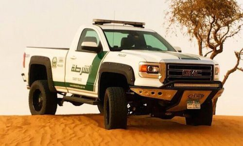 Dubai police recruits modified 2015 GMC Sierra for its fleet