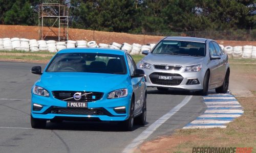 HSV Senator Signature vs Volvo S60 Polestar: track test (video)
