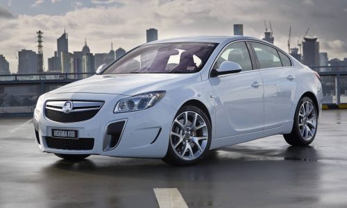 Holden Insignia VXR priced from $51,990, cheaper than Opel version
