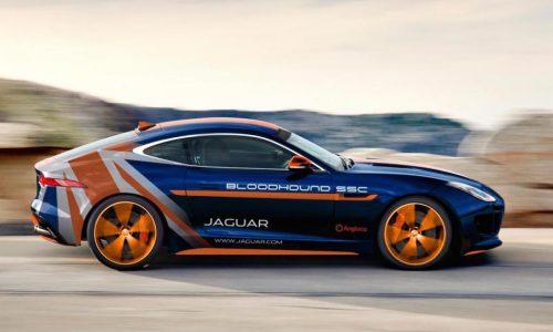 Jaguar creates F-Type Rapid Response Vehicle for Bloodhound SSC