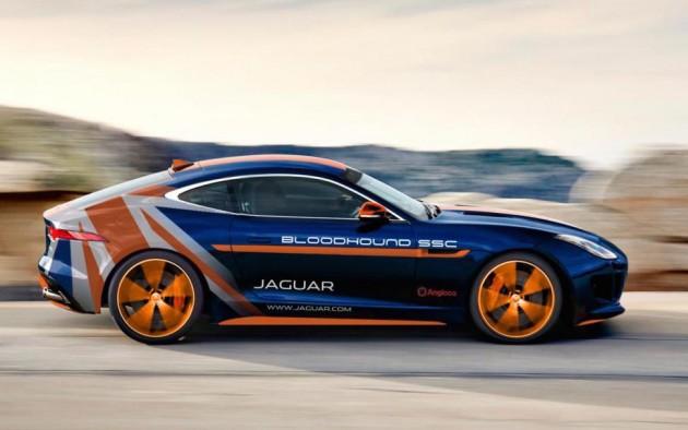 Jaguar F-Type R AWD Bloodhound RRV