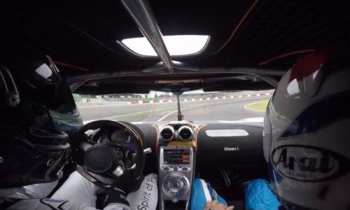 Video: Koenigsegg One:1 sets unofficial Suzuka lap record