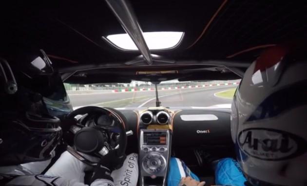 Koenigsegg One1 at Suzuka
