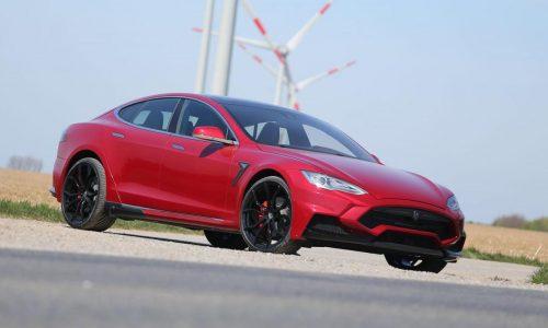 LARTE creates mental Tesla Model S P85D tune, EV hypercar