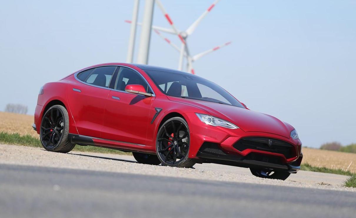 Larte Creates Mental Tesla Model S P85d Tune Ev Hypercar