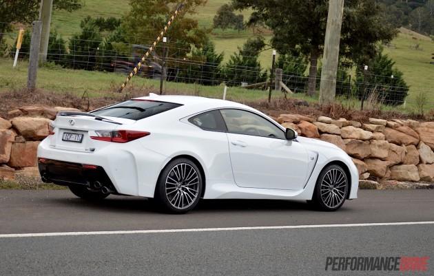 Lexus RC F-back