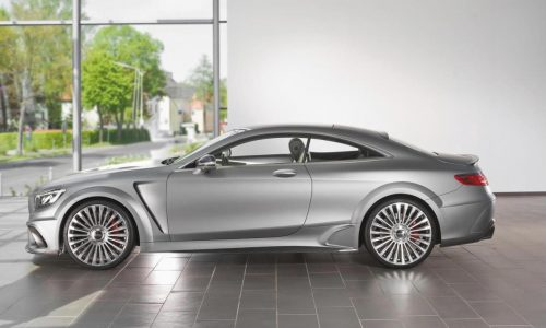 Mansory tunes the bejesus out of the Mercedes S 63 AMG Coupe