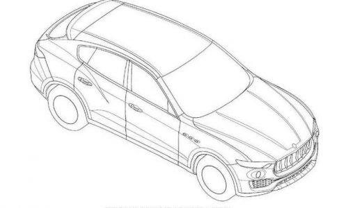 Patent images of Maserati's new Levante SUV found