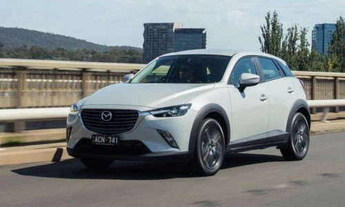 Australian vehicle sales for April 2015 – Mazda CX-3 takes off