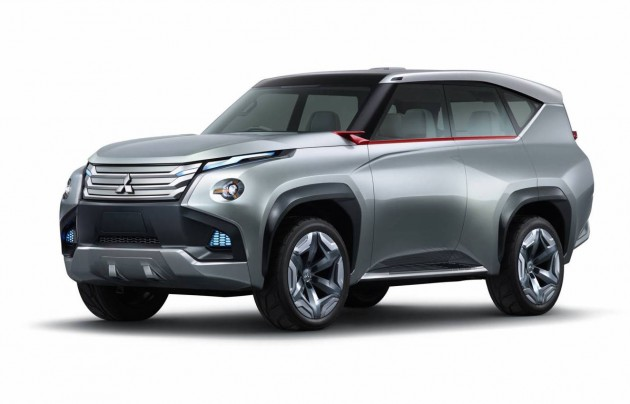 Mitsubishi Pajero GC-PHEV concept