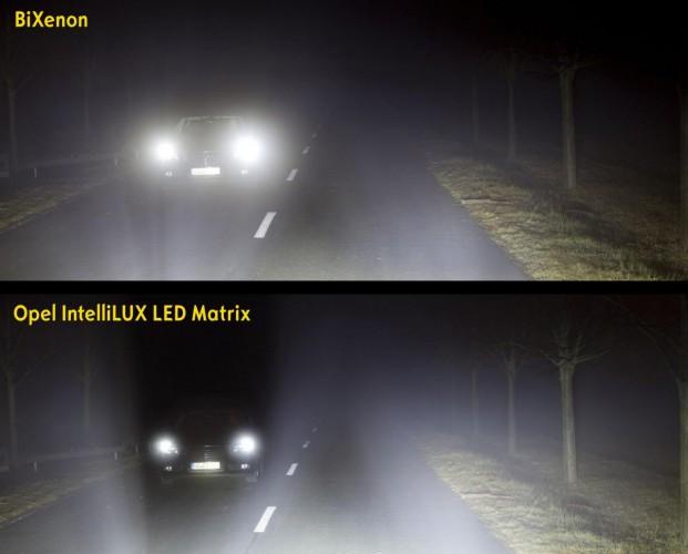 Opel IntelliLux LED Matrix beam