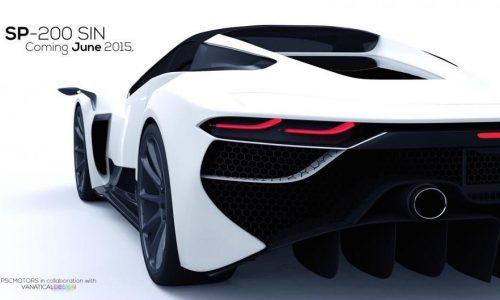 1700hp hybrid supercar on the horizon: PSC Motors 'SP-200 SIN'