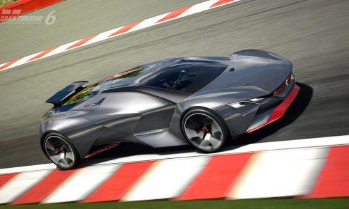 Peugeot Vision Gran Turismo concept revealed