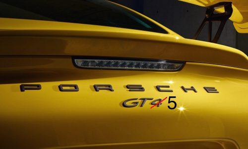 Porsche trademarks 'GT5' name, for hardcore Panamera?