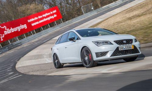 SEAT Leon ST Cupra sets wagon record at Nurburgring (video)