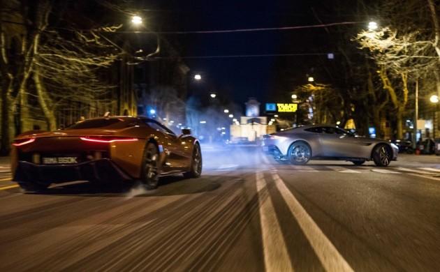 SPECTRE-Aston Martin DB10 and Jaguar C-X75