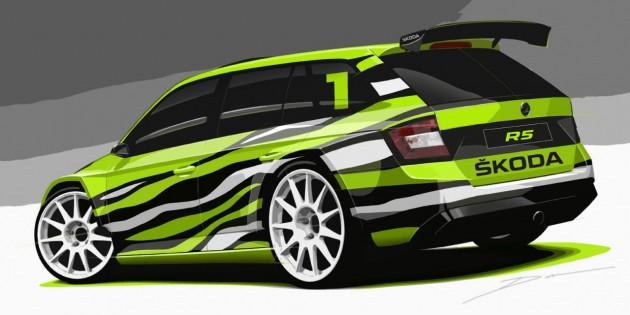 Skoda Fabia Combi R5 concept-rear