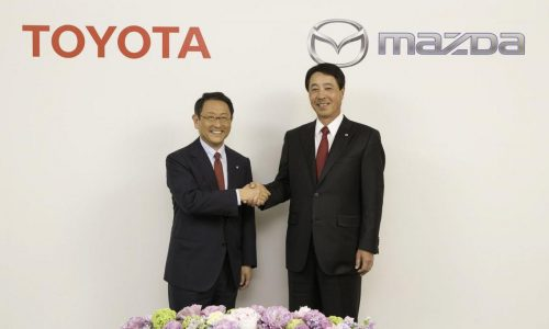 Toyota & Mazda sign long-term partnership agreement