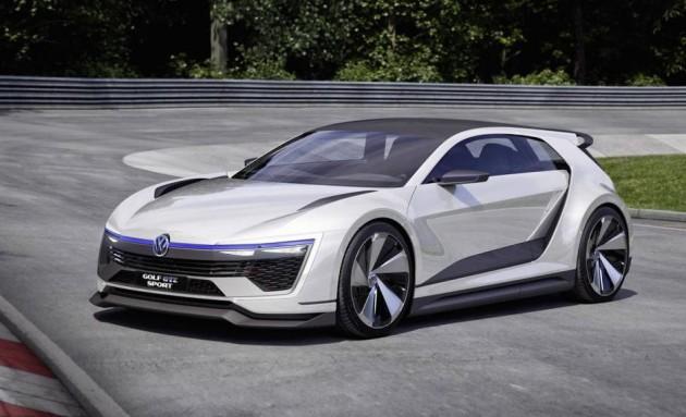 Volkswagen Golf GTE Sport Concept-front
