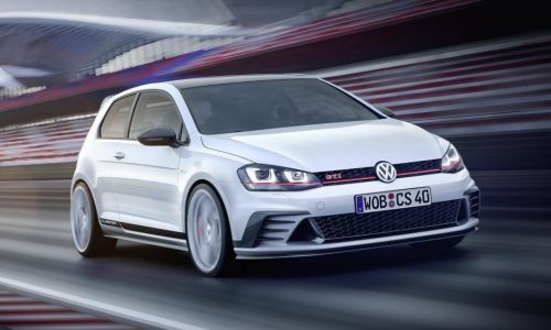 VW Golf GTI Clubsport concept revealed, to go on sale 2016