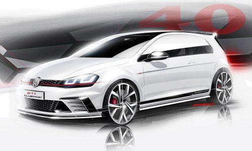 Volkswagen Golf GTI Clubsport concept previewed