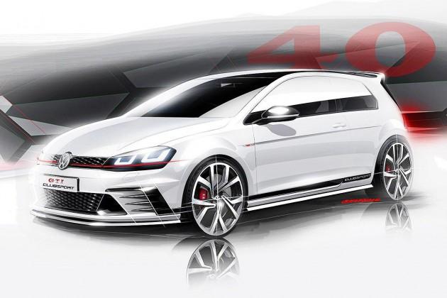 Volkswagen Golf GTI Clubsport concept-preview