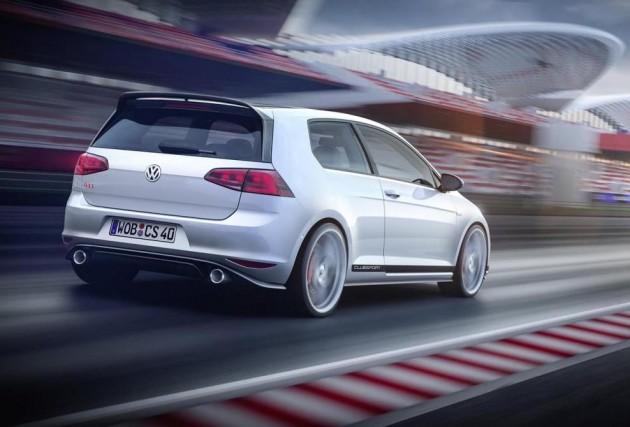 Volkswagen Golf GTI Clubsport concept-rear
