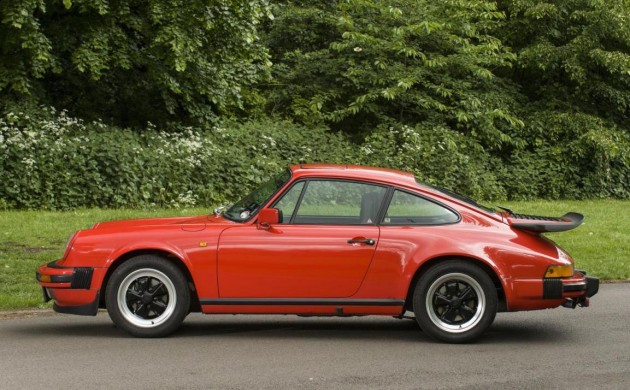 1984 Porsche 911 of James May-red